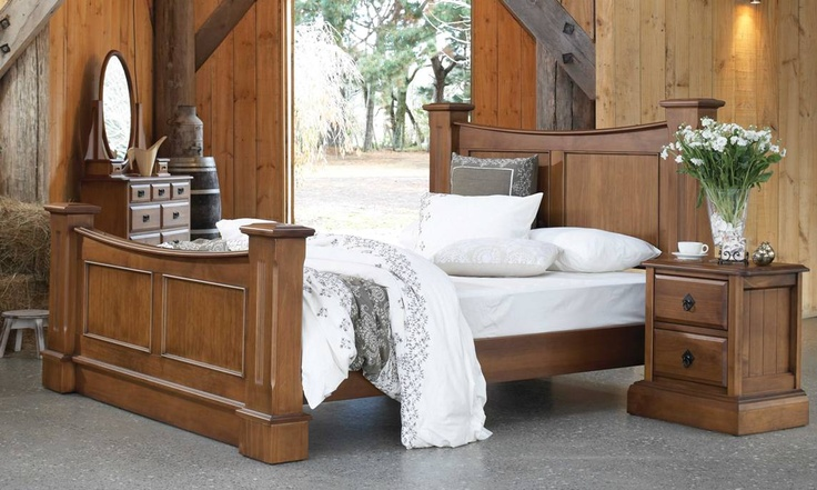 Waiheke Bed Frame by Royal Furniture from Harvey Norman New Zealand