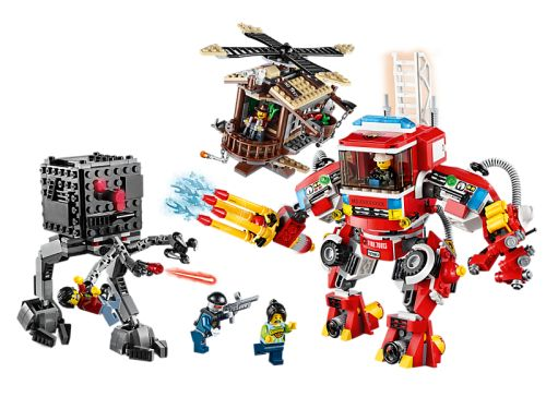 Buy LEGO 70813 THE LEGO STORY Rescue Reinforcements SET - new mint in box for R3,999.99