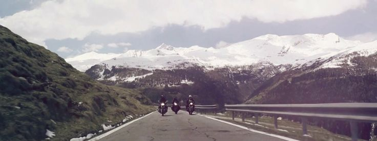 "a short movie by Officina Super Sprint In an unknown place between Italy and Switzerland three riders run free across the Alps. Passion for travel moves them. An old friendship joins them. Escaping from reality is their common goal. Their ""mates"" are called SLASH7, ELLE ESSE and RACER65, old airheads with a faithful two-cylinder heart that ""overflows"" from their framework and with a great soul."