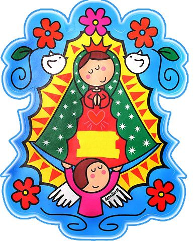Virgencita Nueva | virgencita Plis | virgencita buena onda | cute imágenes para bajar | tamaño grande | art collection Art Illustration