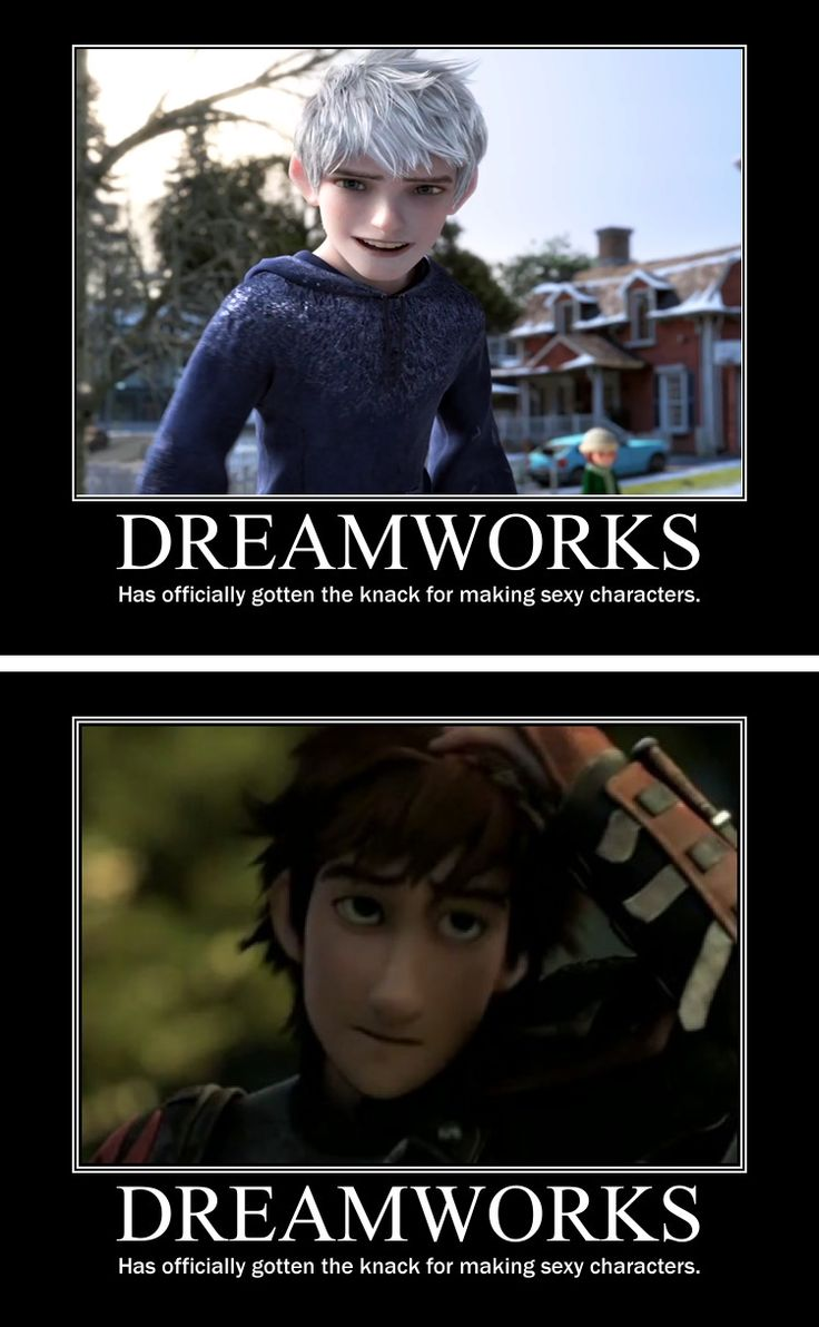 #Dreamworks -Has officially gotten the knack for making sexy characters.- #JackFrost #Hiccup