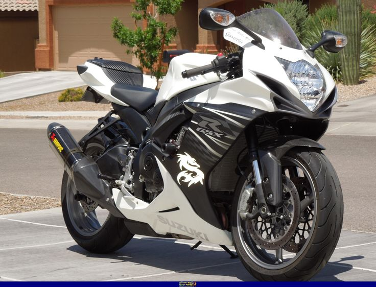 2011 Suzuki GSX-R 600. Love this bike, hopefully will end up with it eventually!