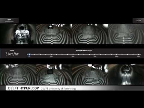 Hyperloop Passenger Pods Hurtle Along a Test Track In California Contest |  Digital Trends