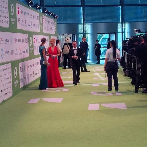"""From """"ECONYL® at GreenTec Awards"""" story by ECONYL® brand on Storify — http://storify.com/ECONYL/econyl-at-greentec-awards"""