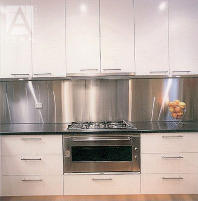 Alltrade Glass Provides Custom Cut Stainless Steel Splashback To Melbourne,  Delivered Or Picked Up. Schwarze SpritzerGoogle BilderIdeen Für Die ...