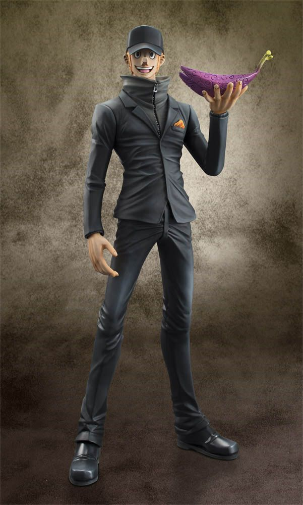 Estatua Kaku 24 cm. Excellent Model P.O.P. Edición limitada. One Piece. Megahouse Preciosa estatua de Kaku de 24 cm de altura aprox., a escala 1/8 y de la línea Excellent Model P.O.P., perteneciente al popular manga/anime One Piece.