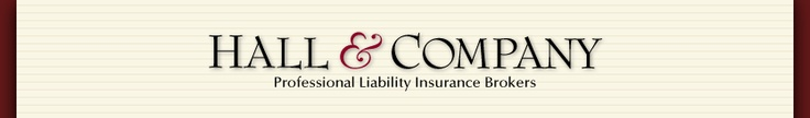 If you are a design professional considering or renewing professional liability insurance, you will benefit from using Hall & Company as a resource for your efforts. Even if you end up purchasing your insurance through another broker, your decision to involve us in the quoting process will ensure that you are getting the best terms for the best value. And if you do purchase insurance from us, you also can be assured that you