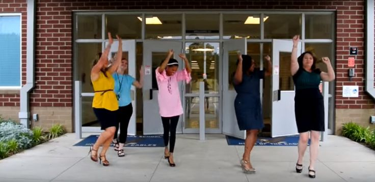 The students of Elmore Park Middle School couldn't stop us from smiling with a music video they put together.