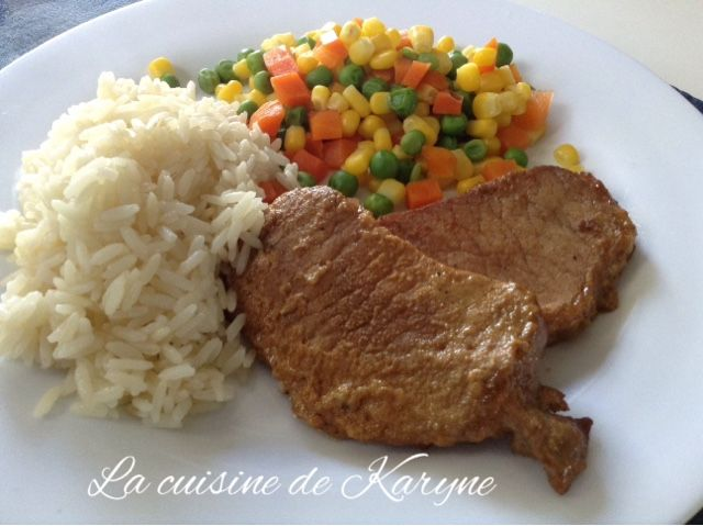 La cuisine de Karyne: Côtelettes de porc faciles en marinade