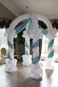 Pabellón de globos - Gazebo. Something like this would be cool