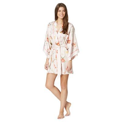 ted baker floral dressing gown