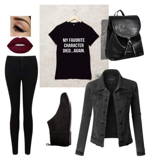 """""""booklover"""" by izatelega on Polyvore featuring Miss Selfridge, LE3NO, H&M and Forever 21"""