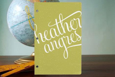 Like Threadless, but for paper stuff - pretty rad designs. 21st Century Girl Journals via Minted.com