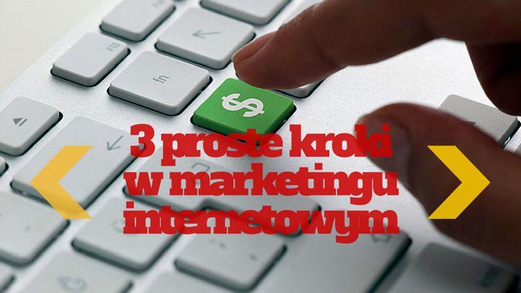 3 proste kroki w marketingu internetowym: http://blog.swiatlyebiznes.pl/3-proste-kroki-w-marketingu-internetowym/