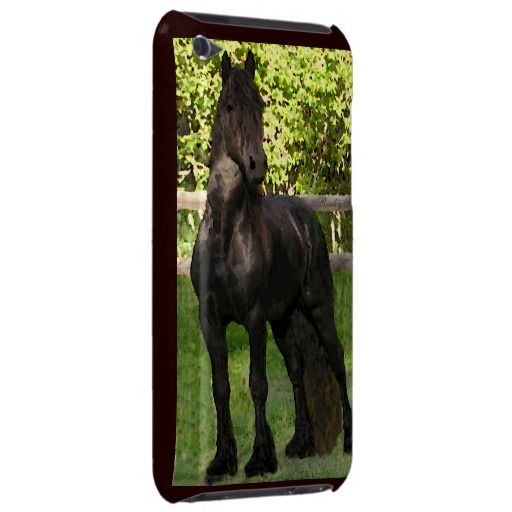 outlet store 89851 099b4 Friesian Horse iPod Touch Case | Zazzle.com | 2 Pin | Ipod touch ...