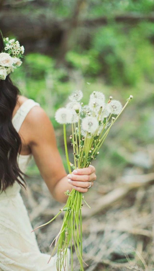 Flores de boda: El diente de león