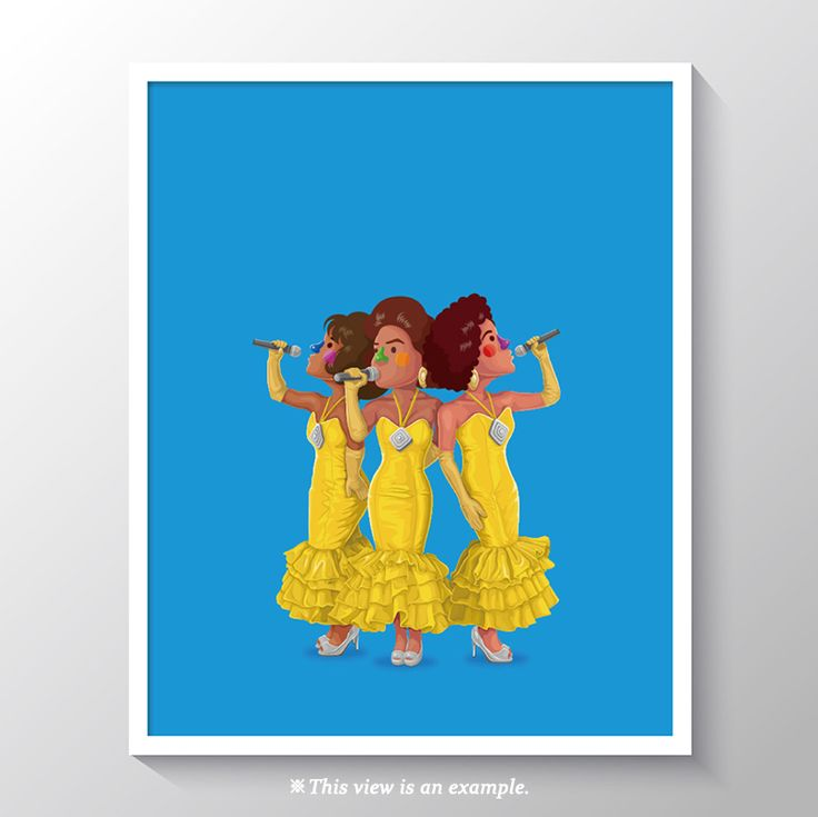 art poster design, art poster for classroom, wall art poster, art poster beautiful, modern art poster, art poster ideas, movie art poster, movie, illustration, illust, drawing art, drawing, Dreamgirls
