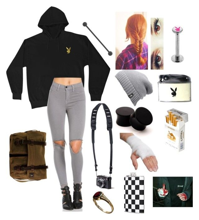 """""""South Park Oc"""" by littleredshark on Polyvore featuring The North Face, Tanner Goods, DamnDog and duty free"""