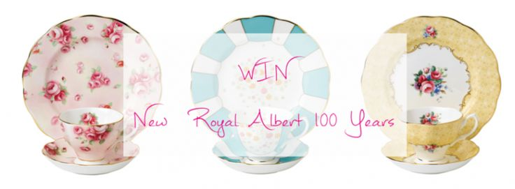 #100YearsOfTea - Win new 100 Years teaware plus beautiful biscuits for the perfect afternoon tea!