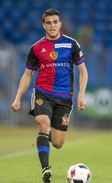 Mohamed Elyounoussi Photos Photos - Mohamed Elyounoussi of FC Basel during the friendly match between FC Basel and VfL Wolfsburg at St. Jakob-Park on July 19, 2016 in Basel, Switzerland. - FC Basel v VfL Wolfsburg  - Friendly Match