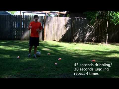 Use these 30 minute soccer workouts which teach drills in soccer to help you improve your soccer skills.