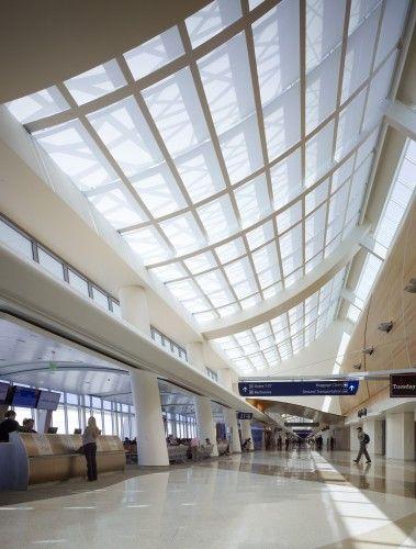 Norman Y. Mineta San Jose International Airport Terminal B / Fentress Architects…