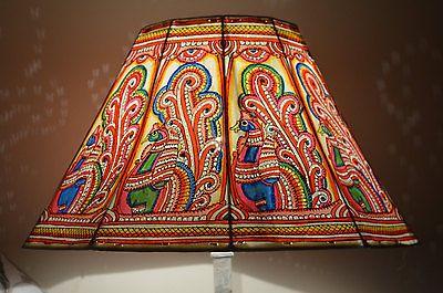 Rainbow-Lampshade-Peacock-lampshade-Large-Lamp-Floor-Lamp-shade-Lampshades