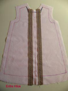 Entre Hilos: Tutorial: como forrar un vestido