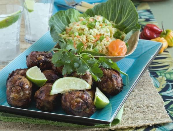 Grilled Island Chicken Recipe — Dishmaps