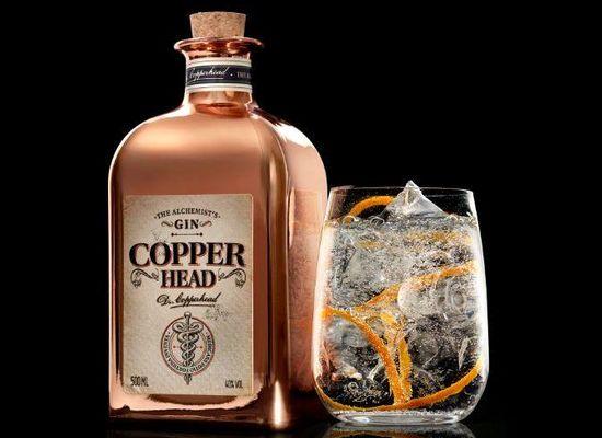 Vindevogel en Filliers lanceren Copperhead-gin
