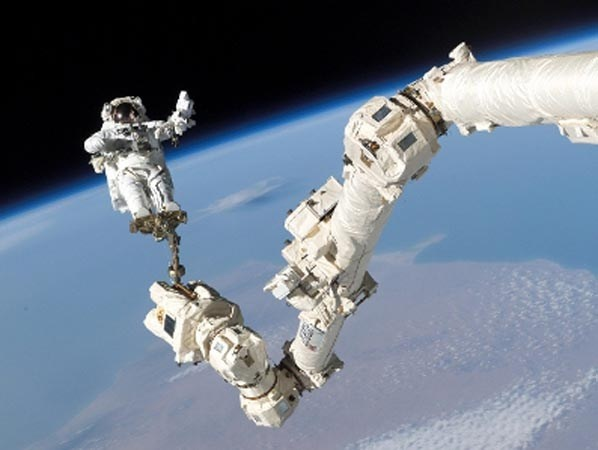 Canadarm. (© REUTERS/NASA/Handout) & other best Canadian inventions.