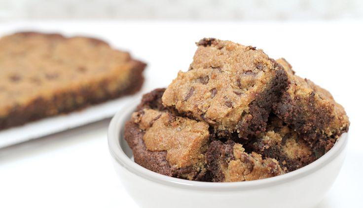 Chocolate Chips Cookie Brownies.. Nom nom nom...