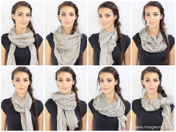 17 meilleures id es propos de porter une charpe sur pinterest porter foulards conseils de - Comment mettre une echarpe plaid ...