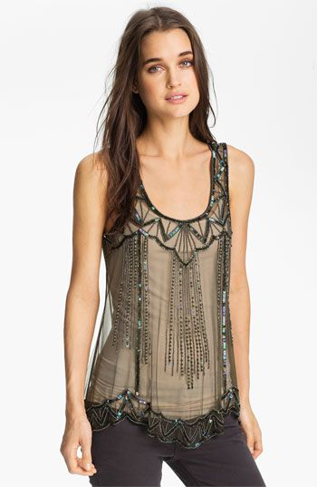 Willow & Clay Embellished Tank