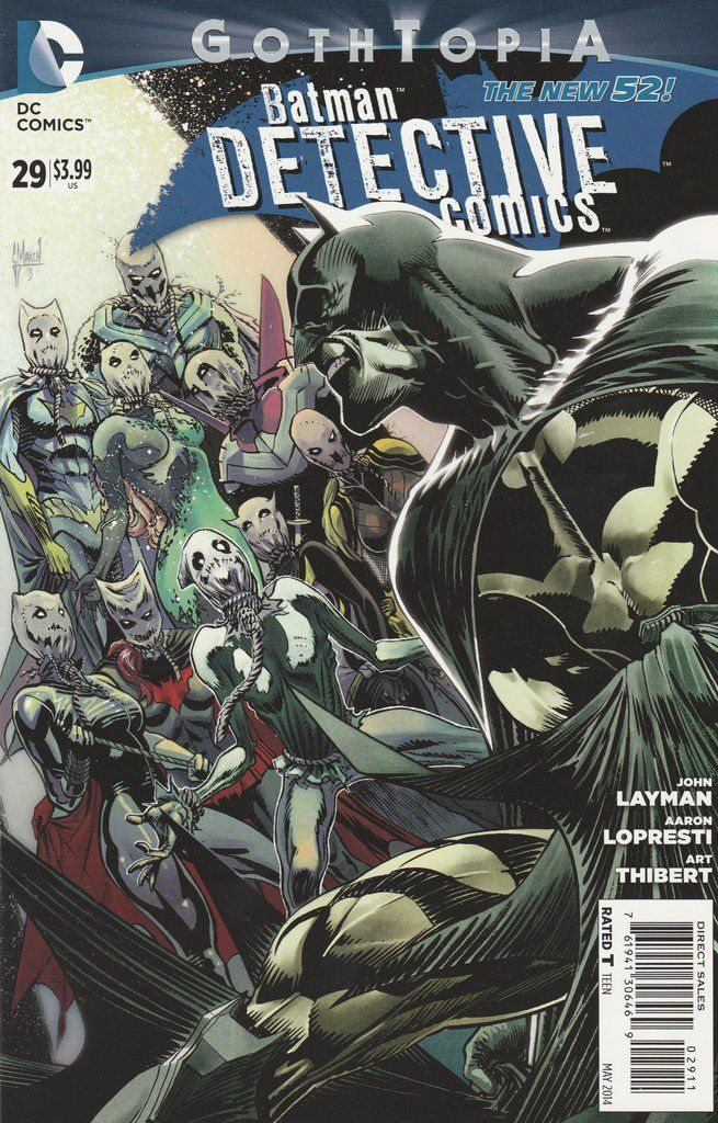 Detective Comics # 29 DC Comics The New 52! Vol 2