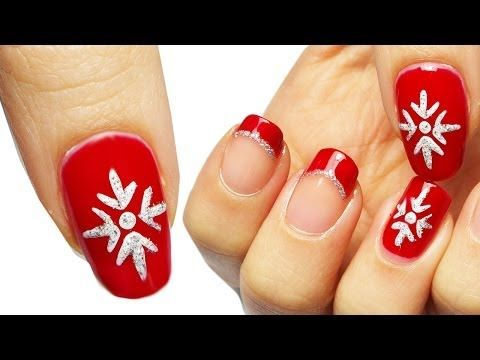 152 best unghie images on pinterest make up pretty nails and christmas nail art tutorial natalizia youtube prinsesfo Choice Image