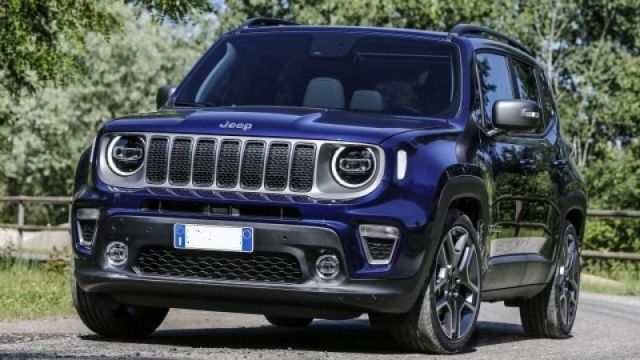 2020 Jeep Renegade Plug In Hybrid Front Jeep Renegade Jeep