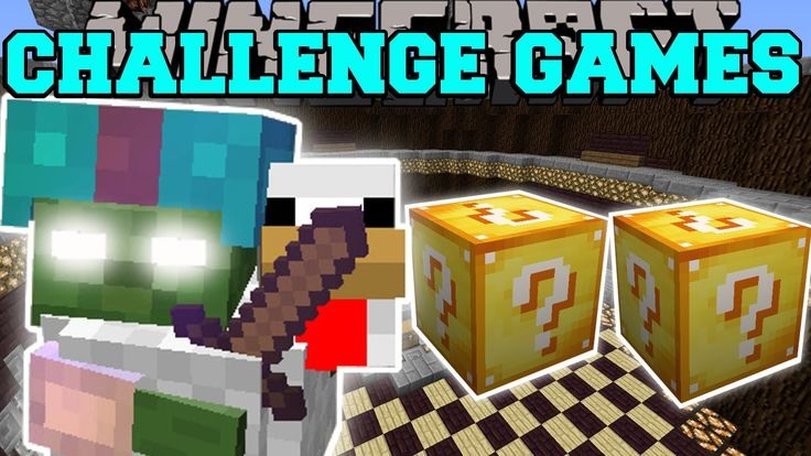 Pat and jen popularmmos minecraft tiny terror challenge - Pat and jen lucky block challenge games ...