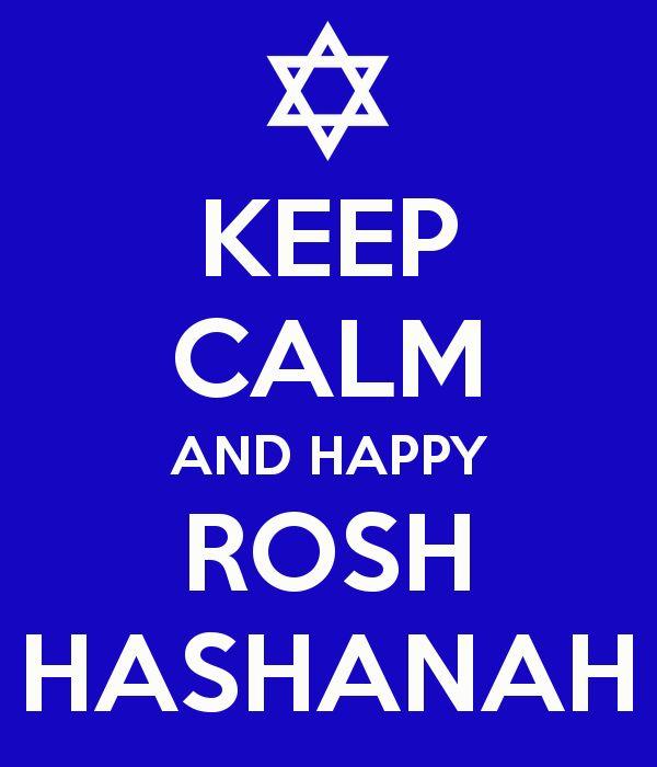 KEEP CALM AND HAPPY ROSH HASHANAH