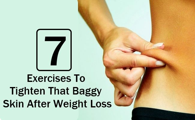 BodyBuilding eStore - http://www.bodybuildingestore.com/7-exercises-to-tighten-that-baggy-skin-after-weight-loss/