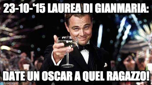 Congratulations meme (http://www.memegen.it/meme/qumt1j)