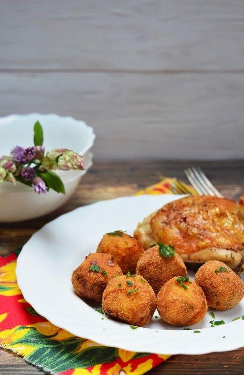 Zöldfűszeres krumpligombóc recept