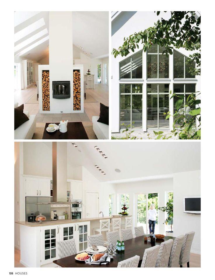 Tredje numret av Houses - 260 sidor inspiration och husmodeller från hustillverkaren Trivselhus.