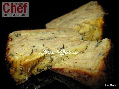 Млинцева запіканка з сиром і зеленню / Завтраки / Рецепты / Шеф-повар – простые и вкусные кулинарные рецепты, фото-рецепты, видео-рецепты