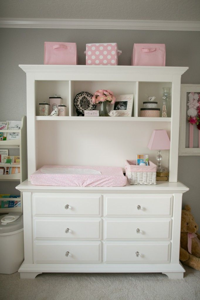 High Quality Soft And Elegant Gray And Pink Nursery