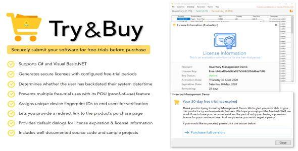 Try Buy Free Trial Maker For Net Applications Stylelib Code In 2021 Net Framework Free Trial Trials
