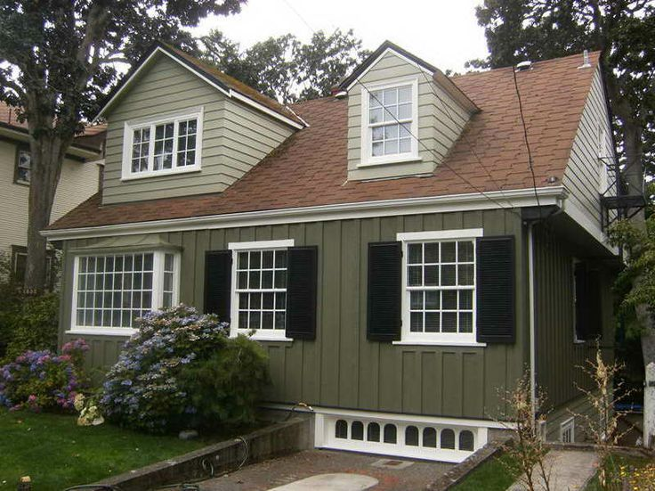 Exterior paint ideas with red brown roof home exteriors for What is the best exterior paint