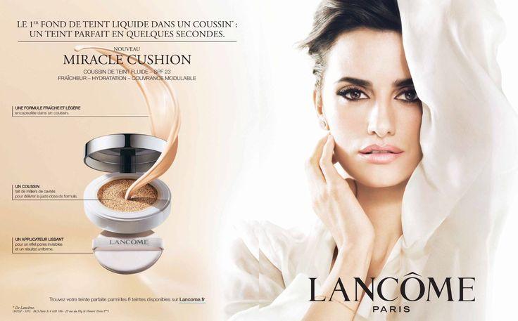 Lancôme Advertising with Penelope Cruz