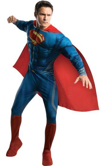 Deluxe Man Of Steel Superman Costume