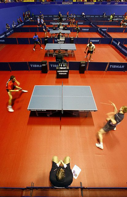 This is how a tournament takes place on an international competition.